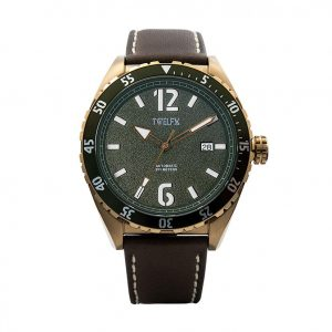 TWELF-X OCEAN 1908 DEEP WAVE – GREEN/BRONZE (1007)