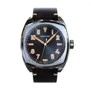 Gruppo Gamma Venturo Field Watch II – Black Sunburst