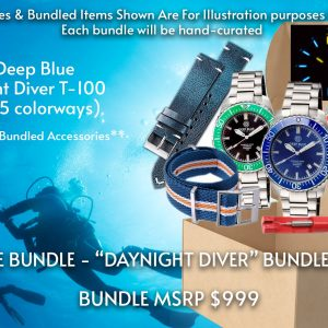"DEEP BLUE BUNDLE 3 Features ""DAYNIGHT DIVER BUNDLE"""