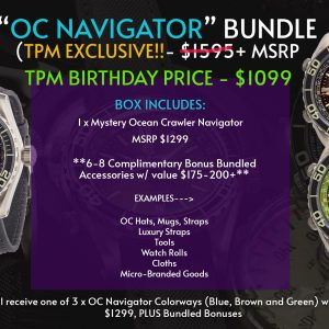 TPM BIRTHDAY SPECIAL – OCEAN CRAWLER NAVIGATOR BUNDLE (TPM EXCLUSIVE!)