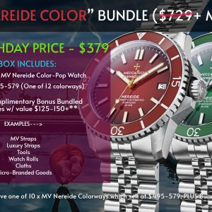 TPM BIRTHDAY SPECIAL – MECCANICHE VENEZIANE NEREIDE COLOR-POP BUNDLE