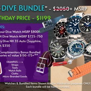TPM BIRTHDAY SPECIAL – MAXI DIVE BUNDLE!
