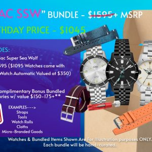 TPM BIRTHDAY SPECIAL – ZODIAC SUPER SEA WOLF BUNDLE